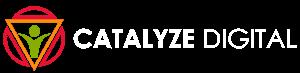 Catalyze Digital Seo Scottsdale White Logo